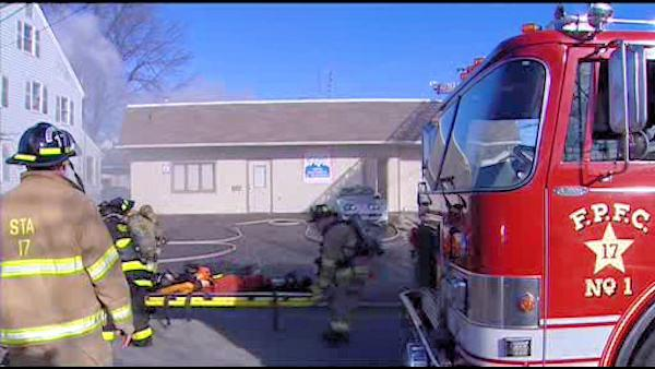 Fire hits ex-boxer's video company in Delaware