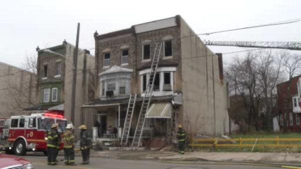 Man burned in Parkside fire