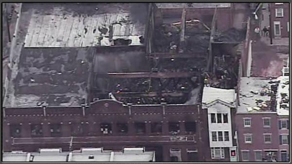 Mummers warehouse fire