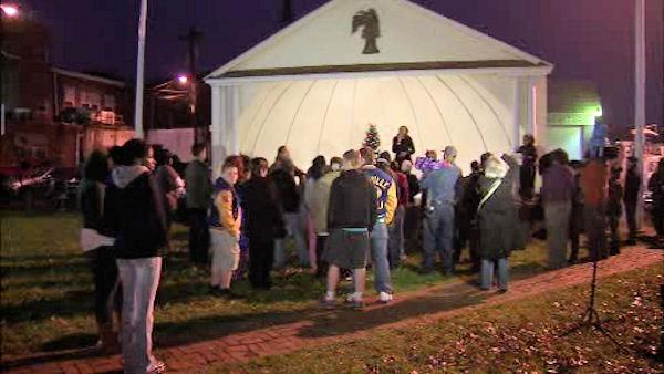 Vigil in Salem, NJ for Conn. shooting victims