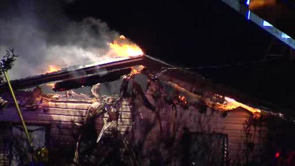 Fire damages several houses in Ocean County