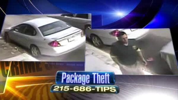 Man steals packages delivered to Phila. home
