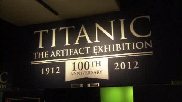Titanic exhibit back in Philadelphia
