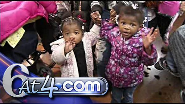 Coat drive in Wilmington clothes hundreds