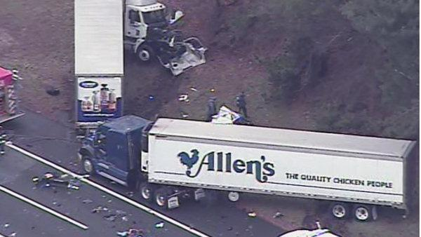 3 killed in NJ Turnpike crash in Burlington County