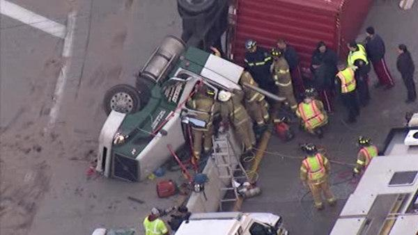 Truck removed, Turnpike ramp reopened in Upper Merion Twp.