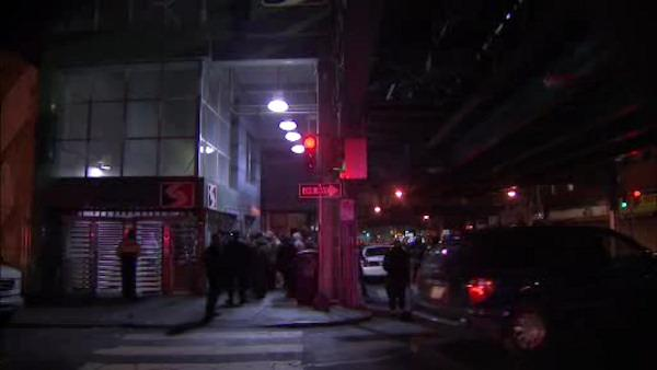 Woman nearly struck by SEPTA train