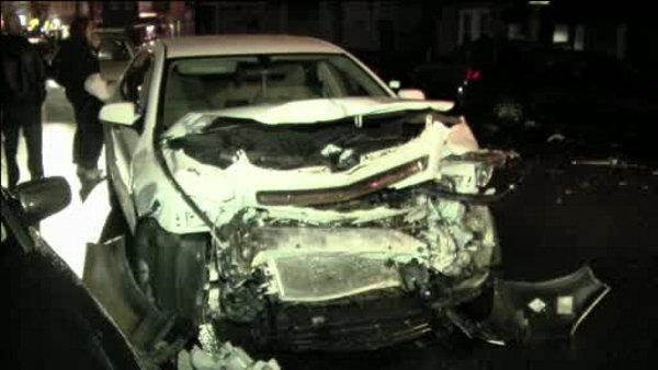 Police: Driver strikes 3 cars then flees