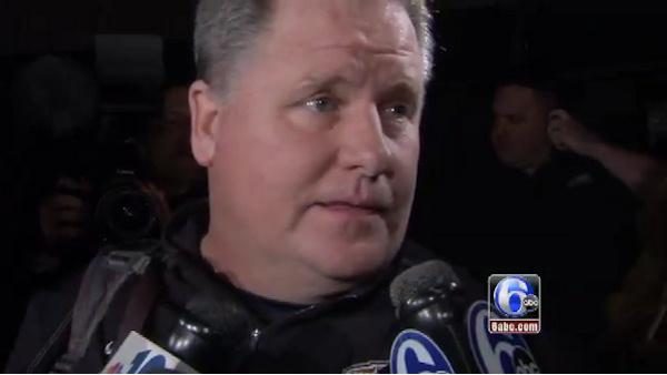 Chip Kelly arrives in Philly, talks to Action News