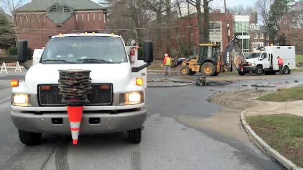 Water main break closes Main Line school in Pennsylvania