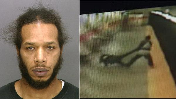 Man arrested for throwing woman onto SEPTA tracks