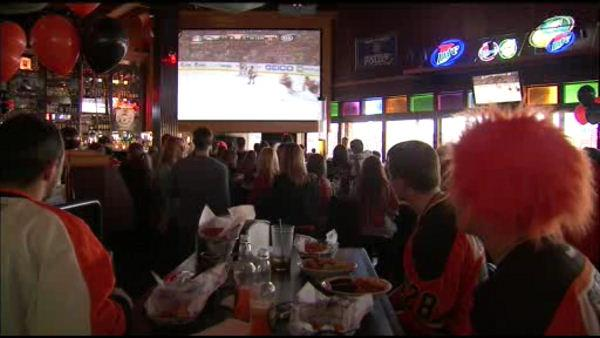 Flyers' fans fired up for first game