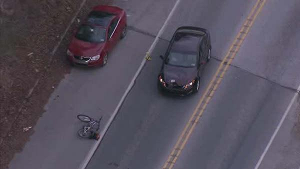 Bicyclist struck, killed by car in Chester County