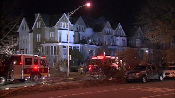 Woman killed in Roosevelt Boulevard fire