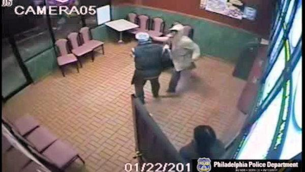 Restaurant beating, robbery caught on camera in Philadelphia