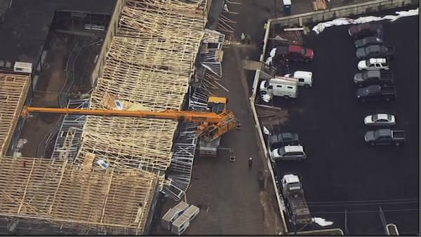 Building collapse in Hunting Park