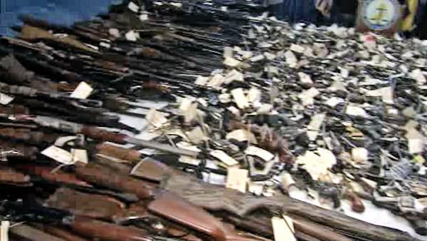 Trenton gun buyback nets 2,600 weapons