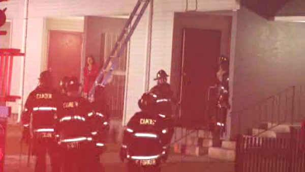 Smoke and fire damages Camden apartment building