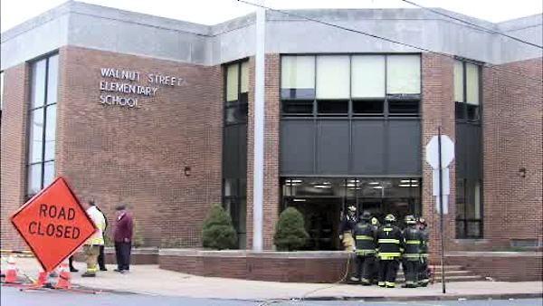 Gas leak capped at Darby elementary school