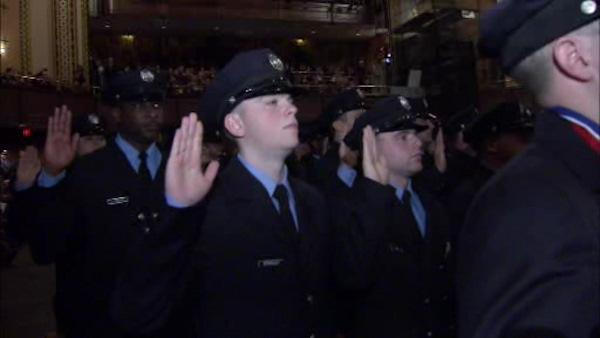 New class of cadets graduate Firefighter Academy