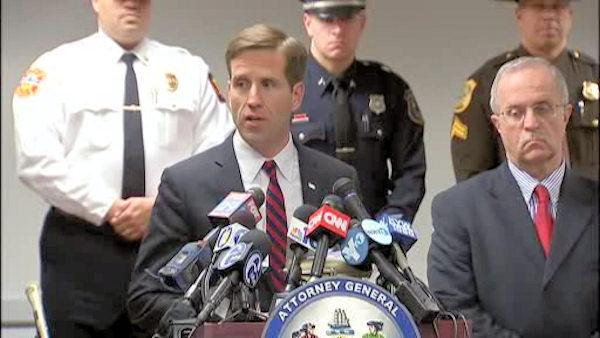 Beau Biden discusses Wilmington courthouse shooting