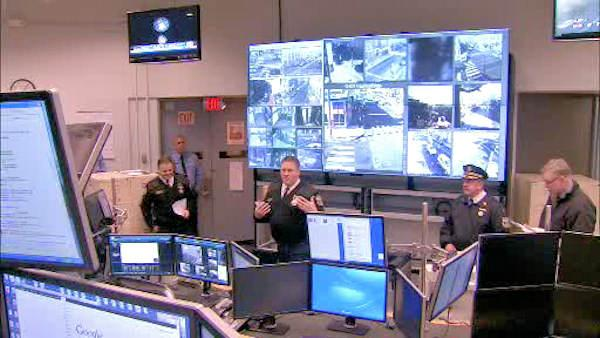 The Real Time Crime Center in Philadelphia