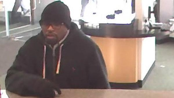 FBI: Serial bank robber hits 4th area bank