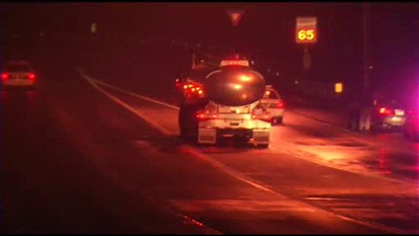 Delaware pedestrian struck, killed by tanker truck
