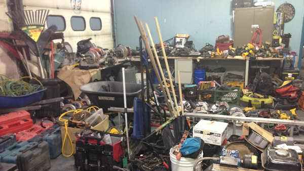 $350,000 worth of tools stolen from work vans