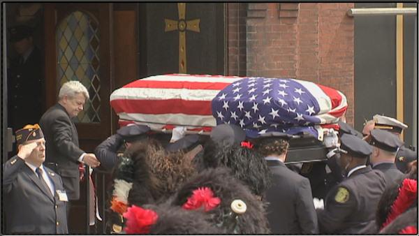 Funeral for firefighter Michael Goodwin