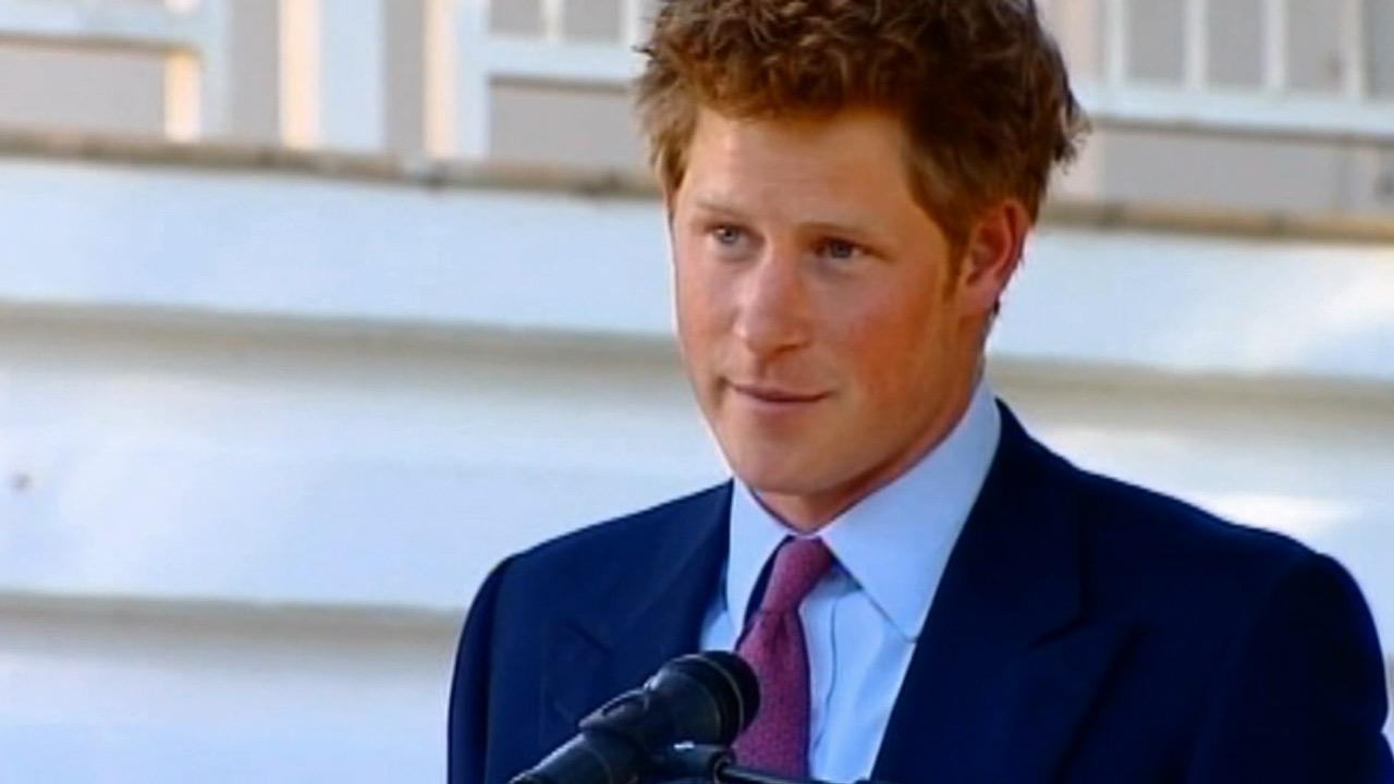 Prince Harry is seen in this undated file photo.