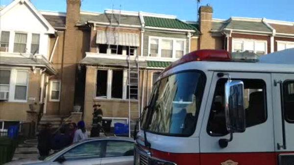 3 children rescued from Southwest Philadelphia house fire