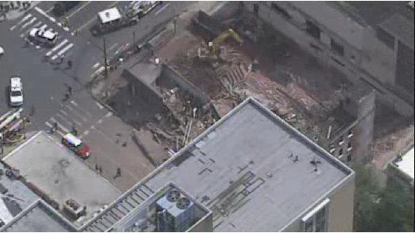 Building collapse at 22nd and Market