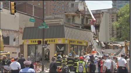 Center City building collapse