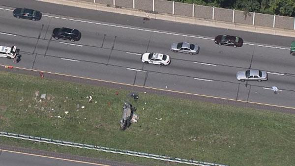 Multiple injuries reported in I-95 crash in Bensalem
