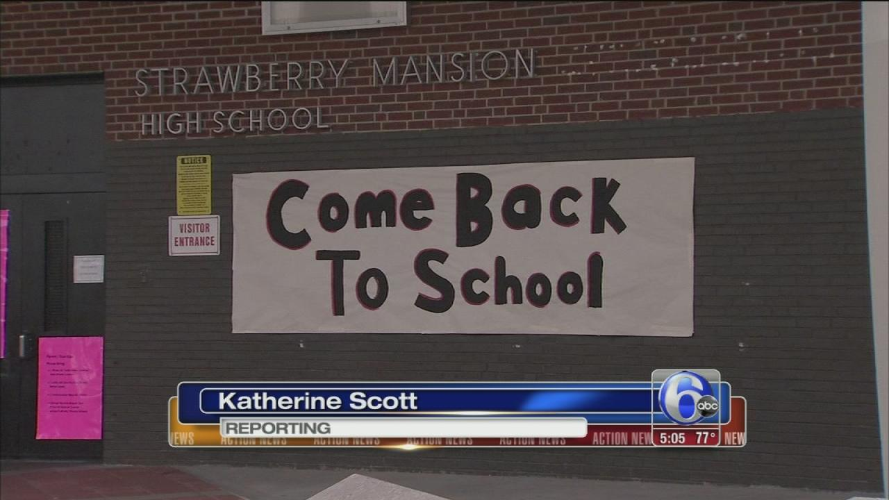 Registration day for Philadelphia schools