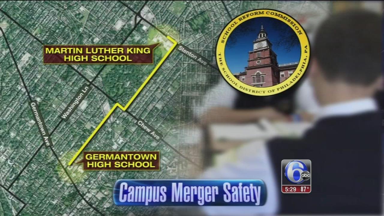 Security eyed as Phila. schools merge
