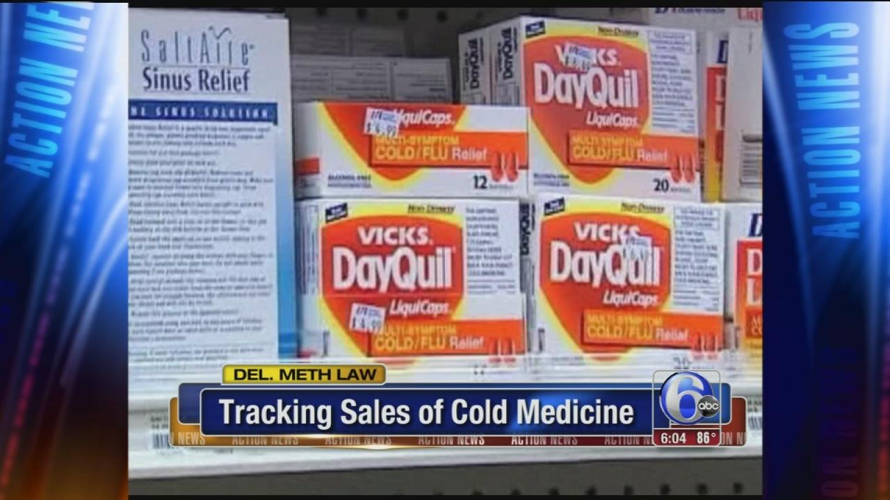 Del.  tracks sale of drug used in meth