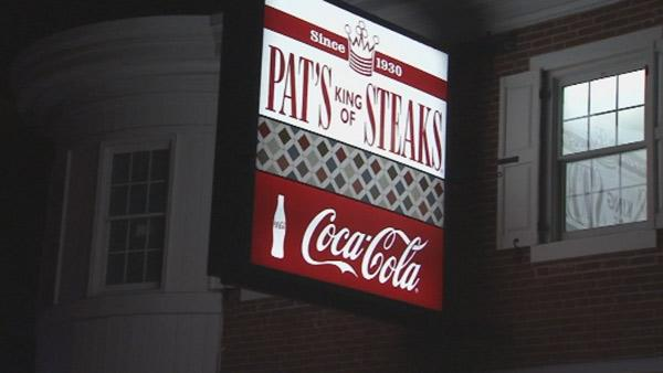 Driver flees after crash in front of Pat's Steaks