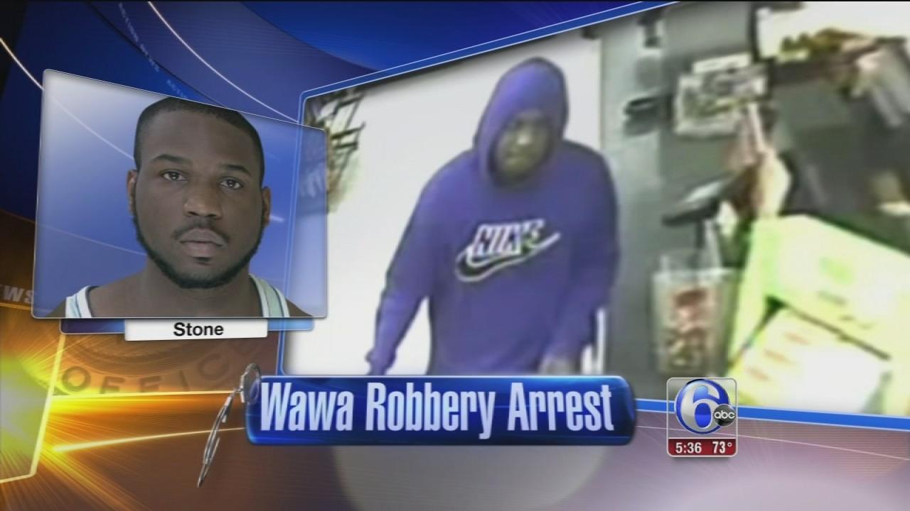 Man arrested with robbing Wawa twice