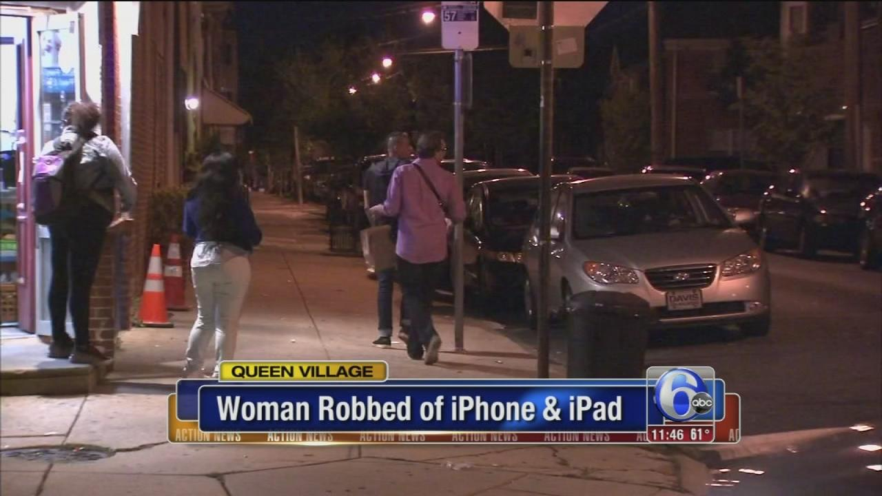 Woman robbed, injured in Queen Village