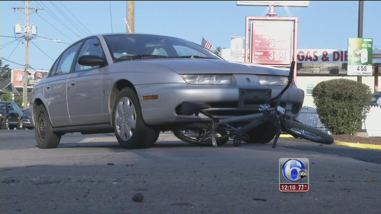 Bicyclist hit by car in Wilmington