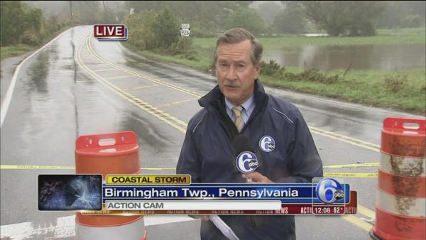 David Henry reports on storm from Chester County
