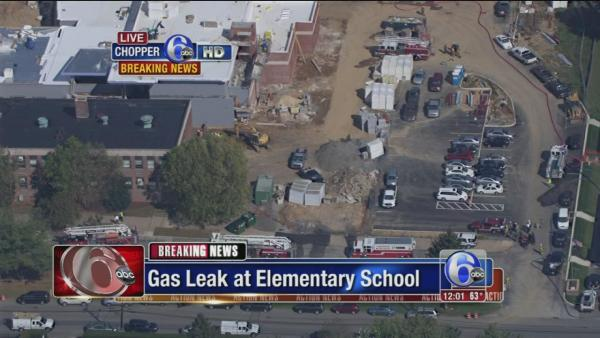 Elem. school evacuated for gas leak in Delco