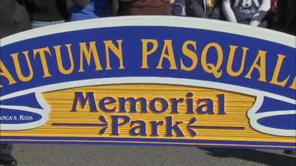 Park renamed in memory of Autumn Pasquale