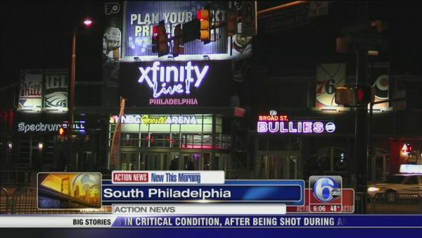 Man attacked outside Xfinity Live