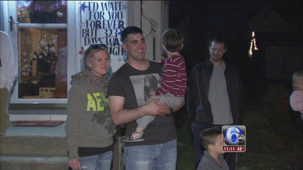 Welcome home Army Nat'l Guardsman Mark Dunkel