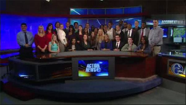 Broadcast Pioneers Career Day at 6abc