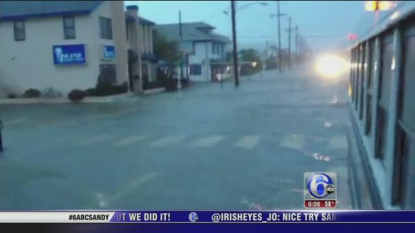 Nora Muchanic recounts Sandy hitting Ortley Beach