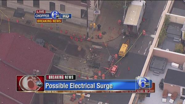 Electrical surge investigated in Center City Phila.
